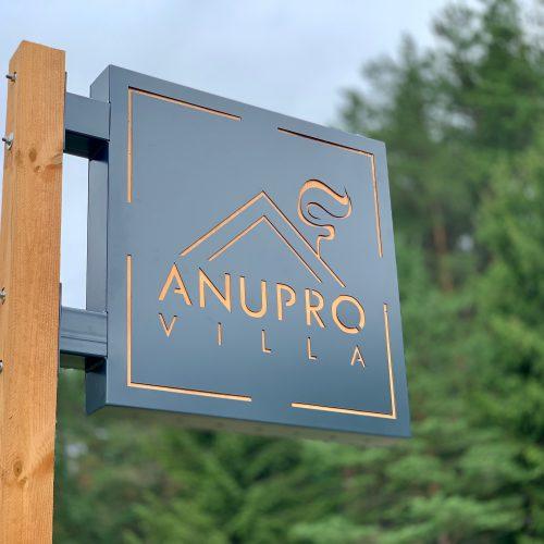Įvažiavimas į Anupro vilą